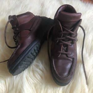 Timberland leather boots size 7.5